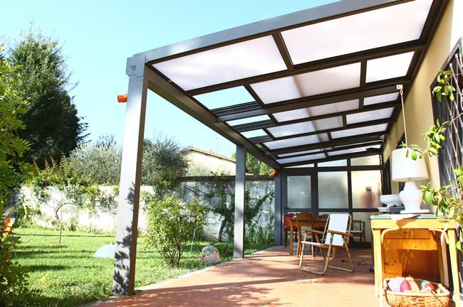 Produzione verande firenze toscana realizzazione verande - Verande da esterno ...